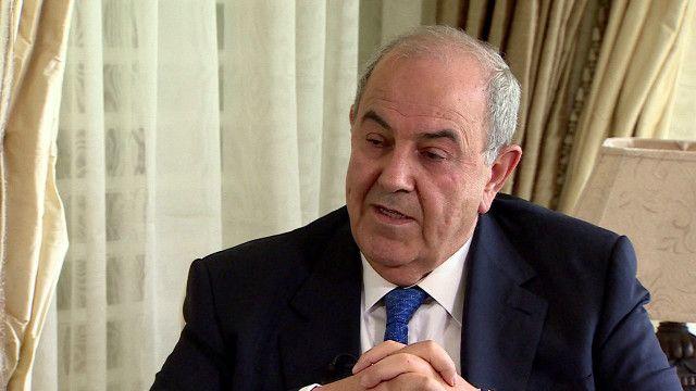 رئيس الوزراء العراقي الأسبق إياد علاوي