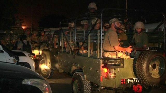 سيارات عسكرية باكيستانية