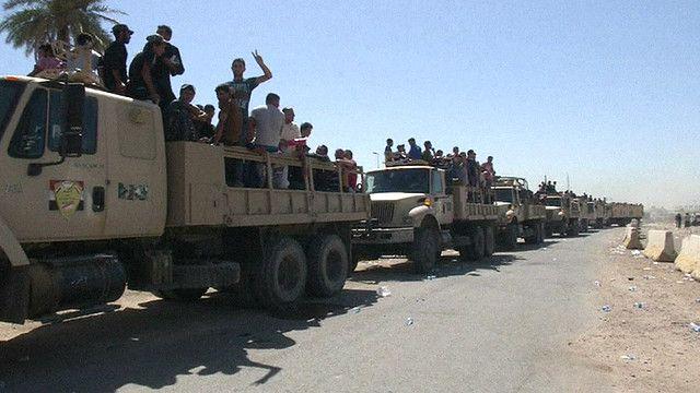 Ополченцы в Ираке
