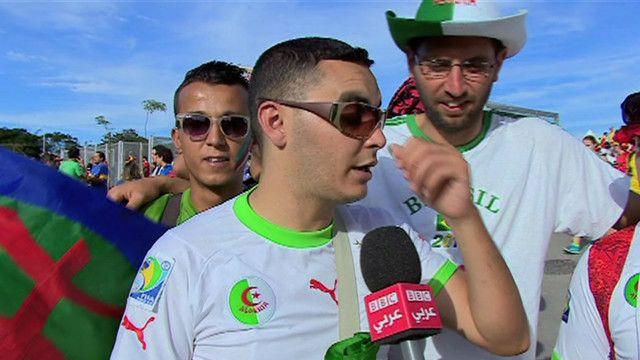 أنصار المنتخب الجزائري