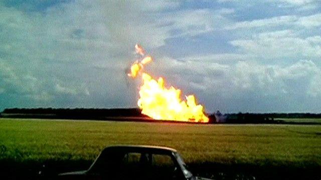 Взрыв газопровода под Полтавой