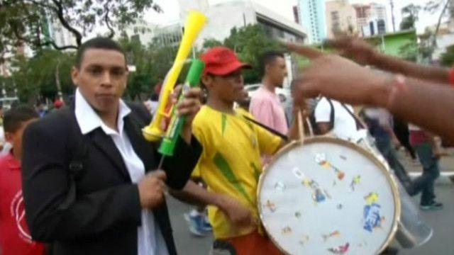 В Сан-Паулу протестовали тысячи бездомных