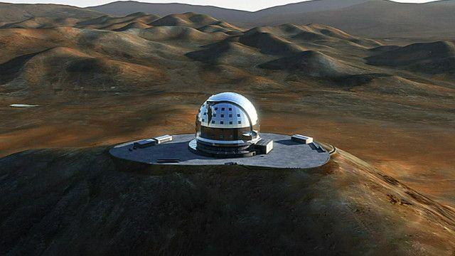 صورة لتلسكوب