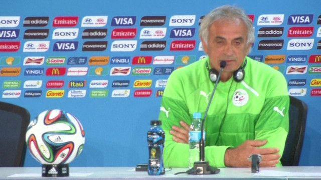وحيد جاليلوزيتش مدرب الفريق الجزائري