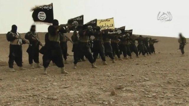 عناصر تنظيم الدولة الإسلامية في العراق والشام
