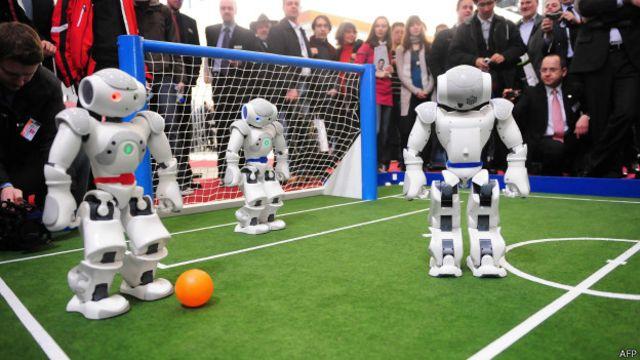 Hombres o robots: ¿quién ganará en el Mundial del 2050?