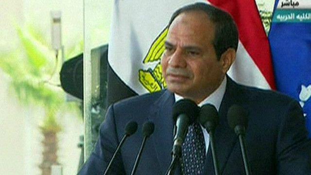 عبد الفتاح السيسي الرئيس المصري