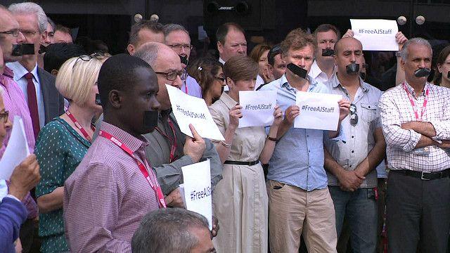 Протест у здания Би-би-си в Лондоне