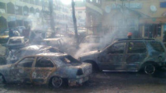 尼日利亞首都商業中心爆炸至少21人死