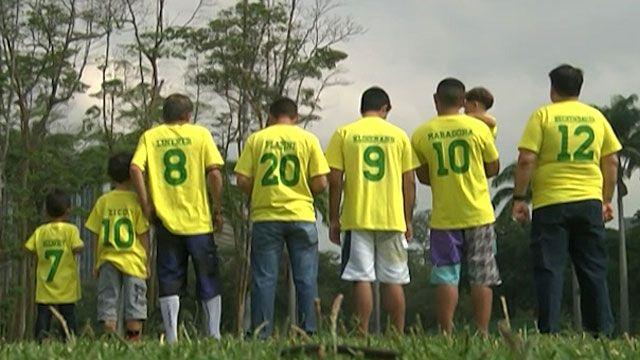 'Craques' se reuniram em gramado do aterro do Flamengo para bate-bola exclusivo (BBC)