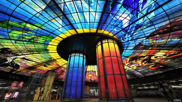 Las 7 estaciones de metro más bonitas del mundo