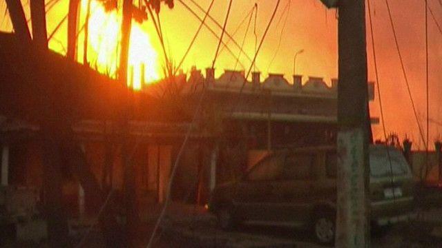 ஆந்திராவில் எரிவாயு குழாய் வெடித்து 14 பேர் பலி