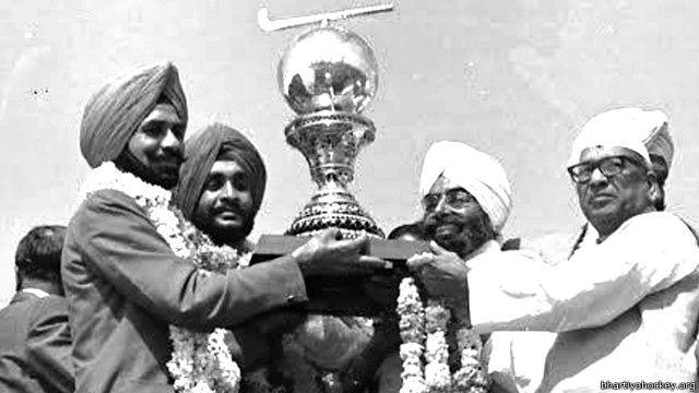 अजित पाल सिंह, भारतीय हॉकी टीम के कप्तान