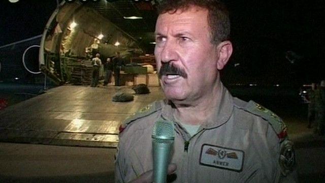 انور أمين قائد القوات الجوية العراقية