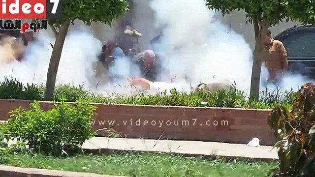 انفجار بوسط رجال الشرطة المصرية