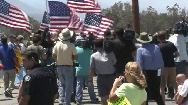محتجون أمريكيون