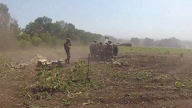 مدفعية اوكرانية