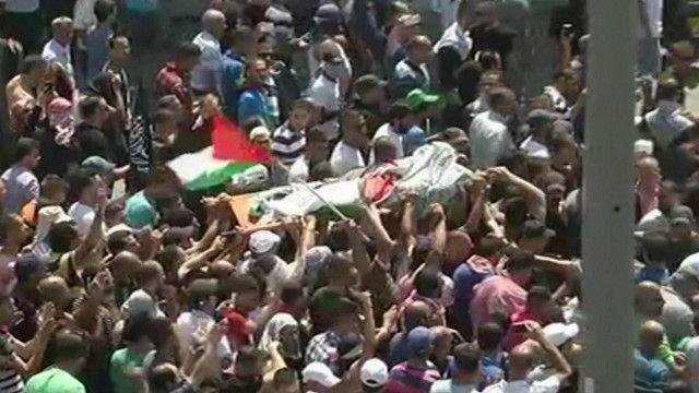 جنازة الفتى الفلسطيني