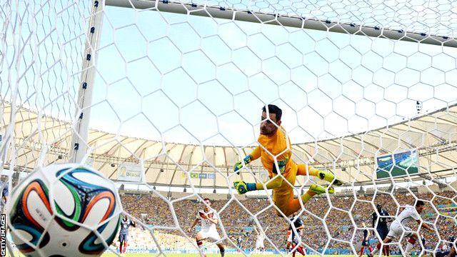 Pháp thua Đức 0-1