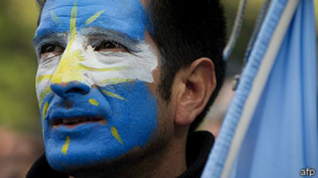 """""""Brasil, decime qué se siente"""", el himno argentino del Mundial"""
