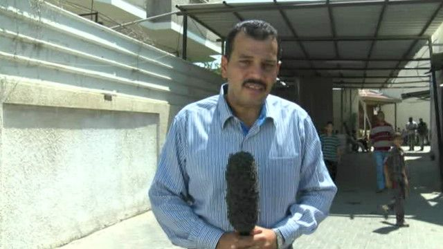 شهدي الكاشف مراسل بي بي سي في قطاع غزة