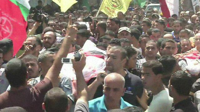 تشييع جنازات الضحايا في غزة