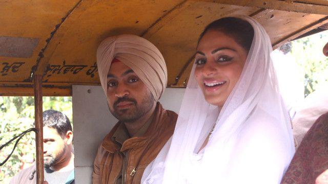 بھارت کی پنجابی فلم کا ایک منظر