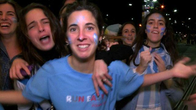अर्जेन्टिनामा खुशीयाली