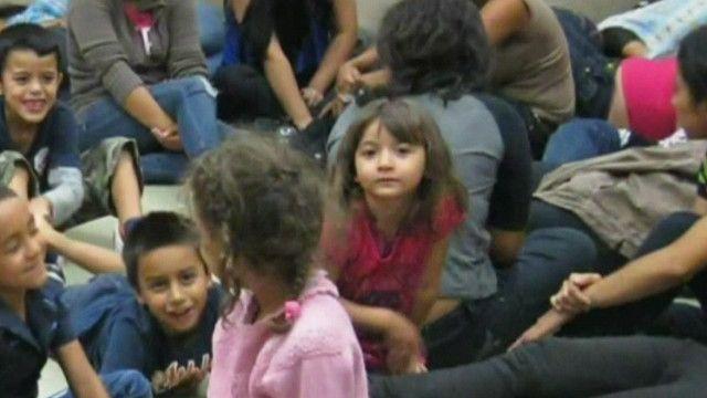 هجرة الاطفال غير الشرعية في ولاية تكساس