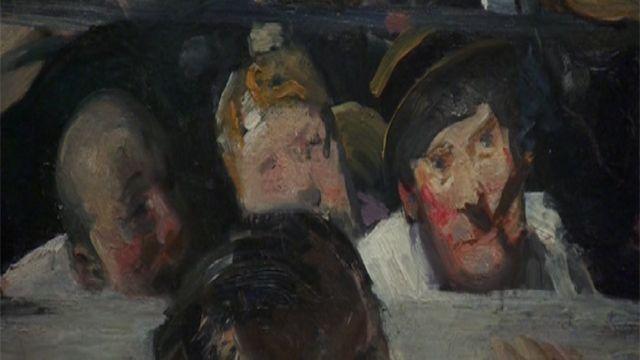 بخشی از یک نقاشی جورج بلوز