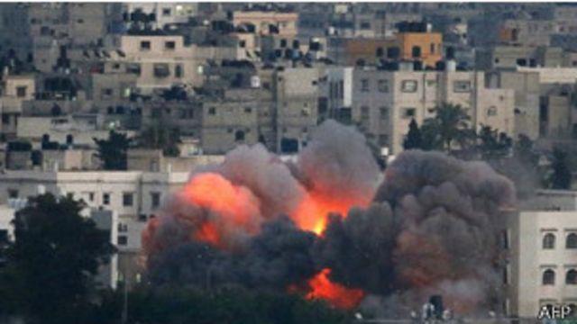 ¿Qué armas se están usando en el conflicto Israel / Gaza?