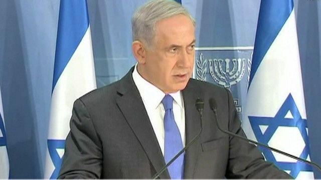بنيامين نتانياهو رئيس الوزراء الاسرائيلي