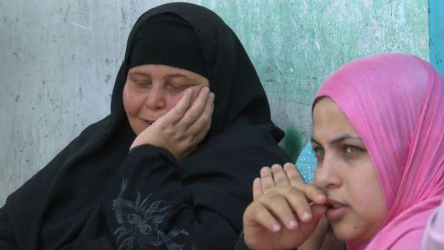 مركز ايواء في غزة