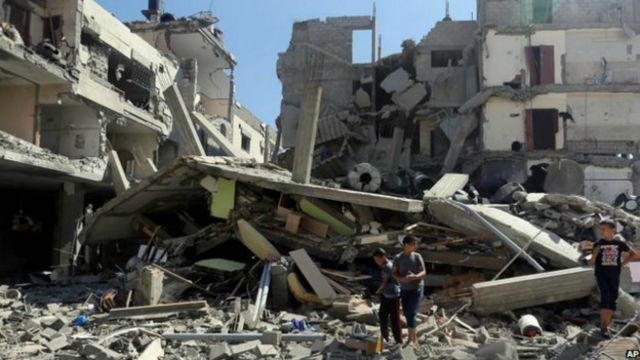 'Não vale a pena viver', diz morador da Faixa de Gaza