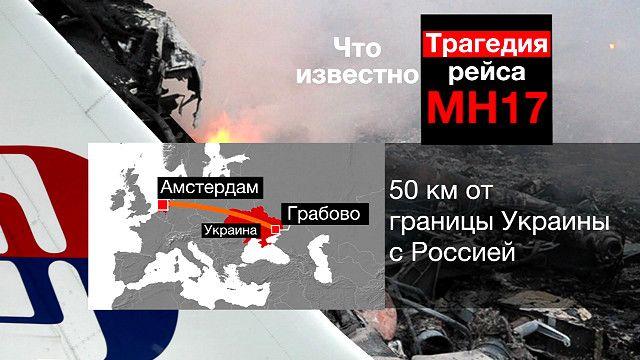 Трагедия рейса МН17