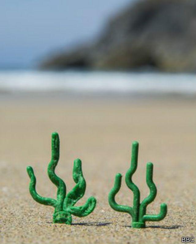 Las playas a las que llegan millones de Lego naufragados