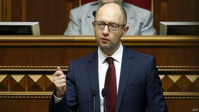 Арсений Яценюк покидает пост премьера Украины