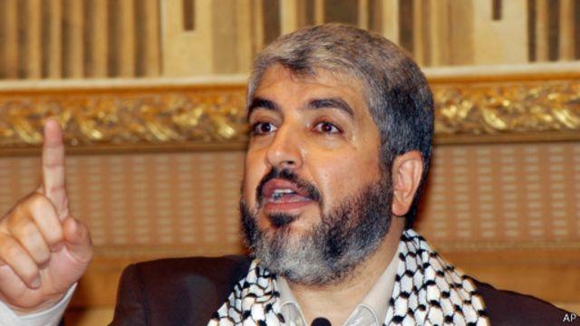 خالد مشعل: آتشبس دائم فقط با پایان حصر غزه قابل قبول است