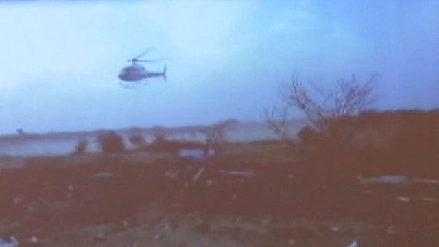 Destroços de avião que caiu no Mali (BBC)