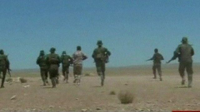افراد من القوات السورية