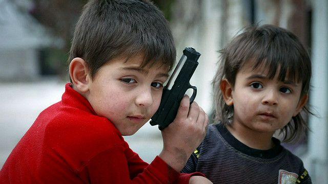 اطفال من سوريا