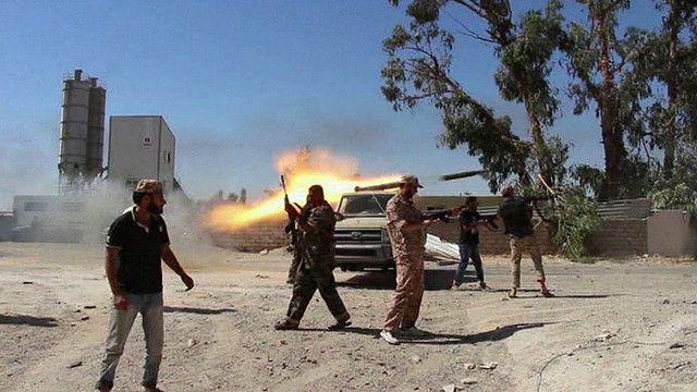 Conflicto entre milicias en Libia