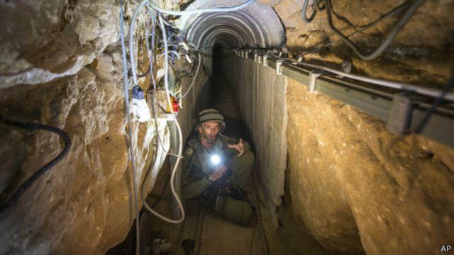 الأوبزرفر داخل شبكة الأنفاق في غزة