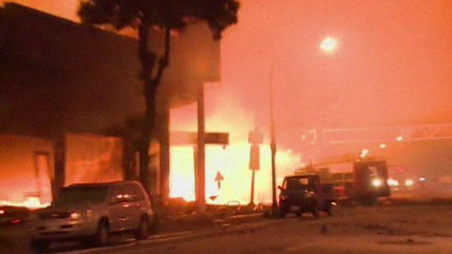 Explosões de gás em Taiwan (BBC)