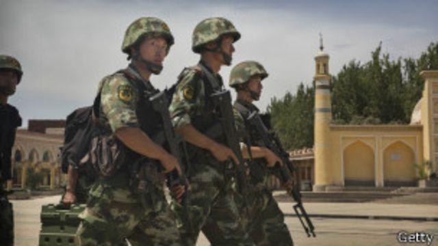 """Китай сообщил о гибели 37 человек """"от рук террористов"""""""