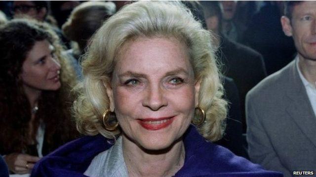 Morre Lauren Bacall, ícone da era dourada de Hollywood
