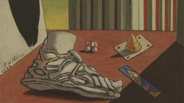 بخشی از یک نقاشی جورجیو دکریکو