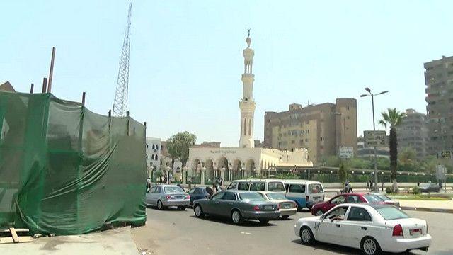 ساحة ومسجد رابعة في مصر