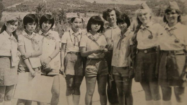 Niños del campamento Artek