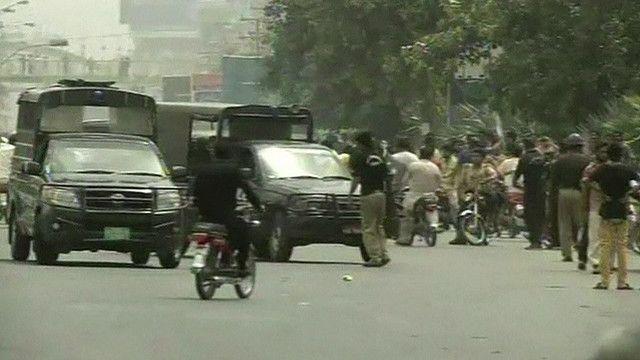 مواجهات في باكستان